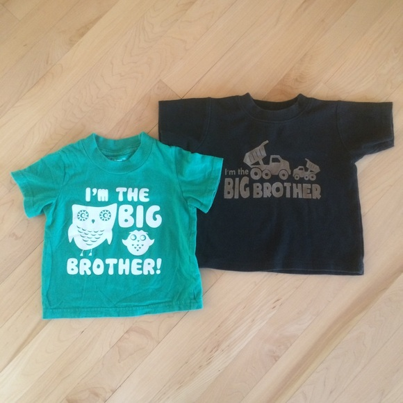 Other - Big Brother Sibling Shirt Bundle-18 months